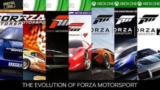 The Evolution of Forza Motorsport Gameplay 1 to 7 2005 to 2017 4K