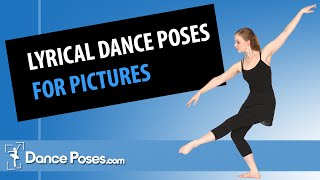 Lyrical Dance Poses For Pictures