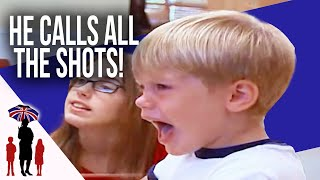 4 Yr Old Rules The House With Aggression & Violence | Supernanny USA