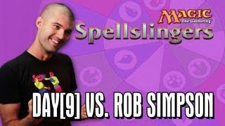 Day[9] vs. Rob Simpson in Magic: The Gathering: Spellslingers Episode 1