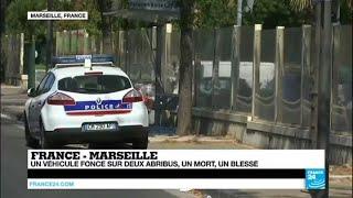 Un véhicule fonce sur des piétons à Marseille: un mort, un blessé