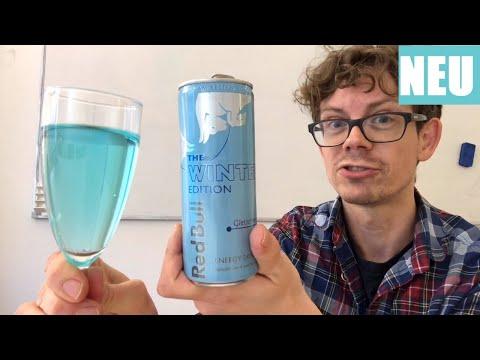 Red Bull Gletschereis Winter Edition: Schmeckt es wie Eisbonbons?