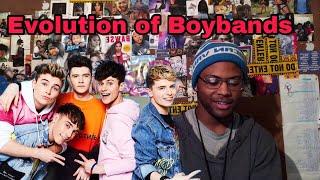 Evolution Of Boybands - RoadTrip | Reaction