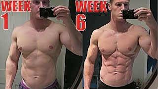 6 WEEK NATURAL BODY TRANSFORMATION | How to Lose Belly Fat | The Cut - Ep. 7