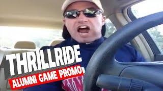 Thrillride Prepares for Alumni Baseball Game - 10.3.13