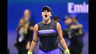 Belinda Bencic vs Bianca Andreescu Extended Highlights | US Open 2019 SF