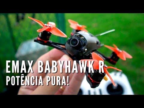 Review Emax Babyhawk R Português
