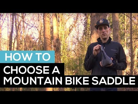 How to Choose the Right Mountain Bike Saddle