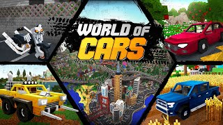 World of Cars - Official Trailer (Minecraft Map)