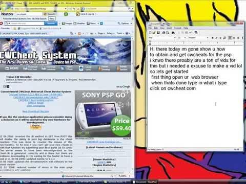 How To Get CwCheats On PSP [EASY WAY] - Veyzo - Video - 4Gswap org