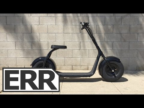 SSR Motorsports SEEV-800 Video Review – Cheap Cool Looking Electric Scooter