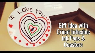 Grandparent Gifts With Infusible Ink Coasters
