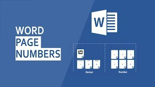 How to add different Page Numbers in Word 2016 including Table of Contents