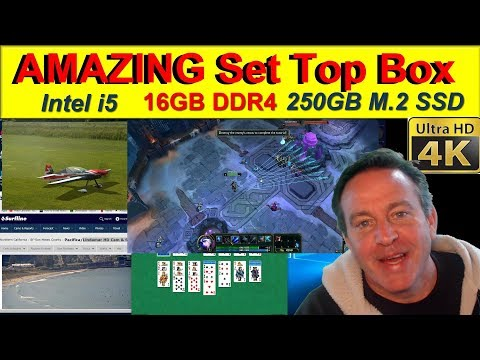 AMAZING Set Top Box - CHECK OUT what this can do - Azulle Inspire First Look and Review