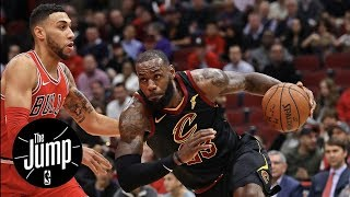 LeBron James practicing Michael Jordan's moves in Chicago?   The Jump   ESPN