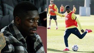 Ousmane Dembele suffers NEW injury - set for more time on the sidelines at Barcelona