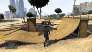 GTA V (GTA 5) - Skatepark Locations