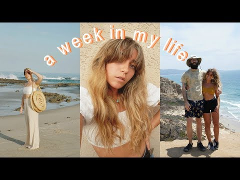 A WEEK IN MY LIFE (cutting my own bangs, hiking, a birthday)