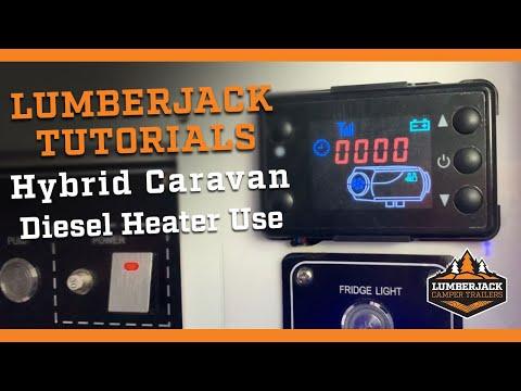 Hybrid Caravan Diesel Heater Use
