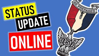 Earn ONLINE Merit Badges - Eagle Scout April Status Update
