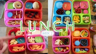 Kid's Lunch Ideas - Week 2 | Sarah Rae Vlogas |