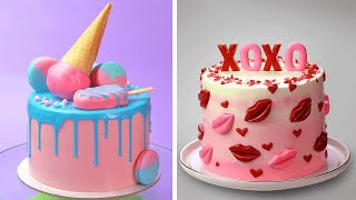 How To Make Cake For Your Coolest Family Members | So Yummy Birthday Cake Hacks | Tasty Cake
