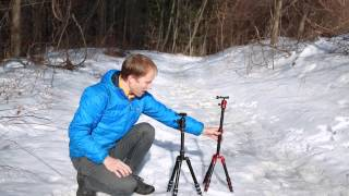 preview picture of video 'REVIEW: Dolica TRX570 vs Mefoto Travel Tripod'