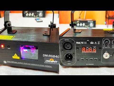 Лазерный сценический проектор ESHINY DM-RGB400 Laser Stage Projector