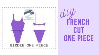 DIY French Cut Swimsuit | Birdie One Piece | Edgewater Avenue