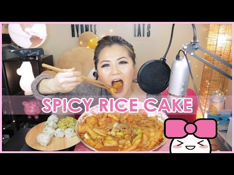 SPICY RICE CAKE [떡볶이]!! MUKBANG [먹방] | RECIPE