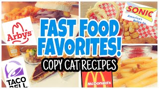 Fast Food Copycat Recipes | Cook With Me | Fast Food Favorites