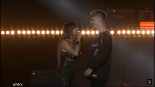Danna Paola Performing Mala Fama, So Good Ft. Hrvy Los 40 Primavera Pop HD