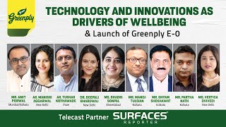 LIVE! Greenply E-0 Launch with architects & designers | Telecast & Media Partner: SURFACES REPORTER