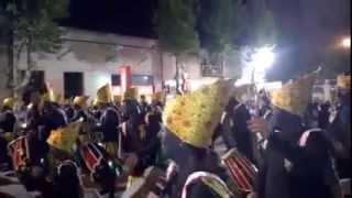 preview picture of video 'Imperdible!!,Comparsa Caracu Quemao, Llamadas 2015, Colonia del Sacramento'