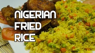 How To Cook Nigerian Fried Rice Recipe - Nigerian Rice - Best Nigerian Rice - Jollof