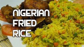 How to Cook Nigerian Fried Rice Recipe - Nigerian Rice - Best Nigerian rice - Jollof
