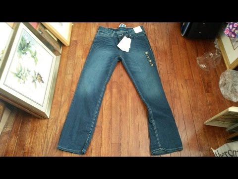 Calvin Klein Authentic Blue Straight Fit Jeans Review