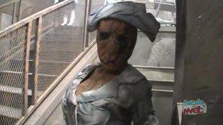 FULL Silent Hill Haunted House Lights On Walkthrough At Halloween Horror Nights 2012