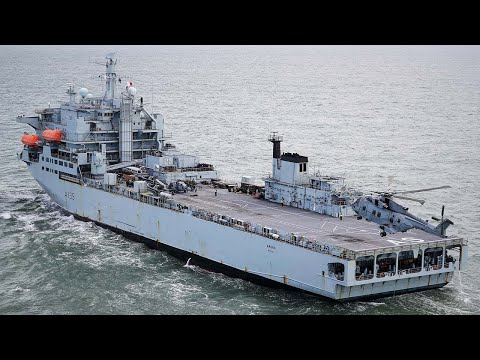 RFA Argus - anti narcotics and disaster relief operations in the Caribbean