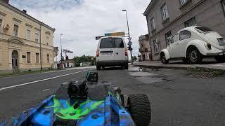 FPV RC Car Traxxas E-Revo 2.0 public road only