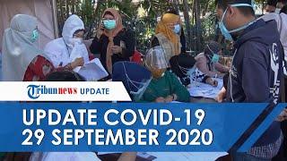 UPDATE COVID-19 di Indonesia Hari Ini 29 September: Tambah 4.002 dalam Sehari, 3.567 Pasien Sembuh