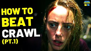 """How to Beat the KILLER GATORS in """"CRAWL"""" (2019) - Part 1"""