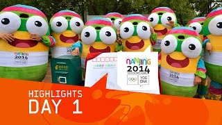 preview picture of video 'Day 1 Highlights | Nanjing 2014 Youth Olympic Games'