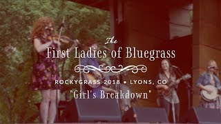 "The First Ladies of Bluegrass: ""Girl's Breakdown"""