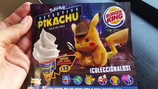 Detective Pikachu Juguetes De Burger King King Jr. Meal (Abril/Mayo 2019)