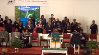 New Hope MBC Gospel Choir Sings Down at the Cross