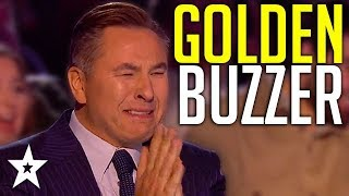 HAPPIEST Golden Buzzer Ever Makes Judges CRY On Britain's Got Talent!  Got Talent Global