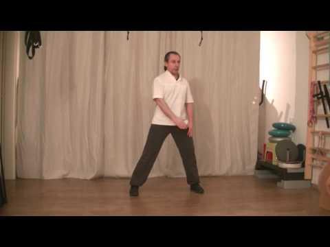 Video di esercizio per ladolescente da inchino