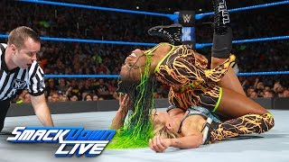 Naomi vs. Charlotte Flair - SmackDown Women