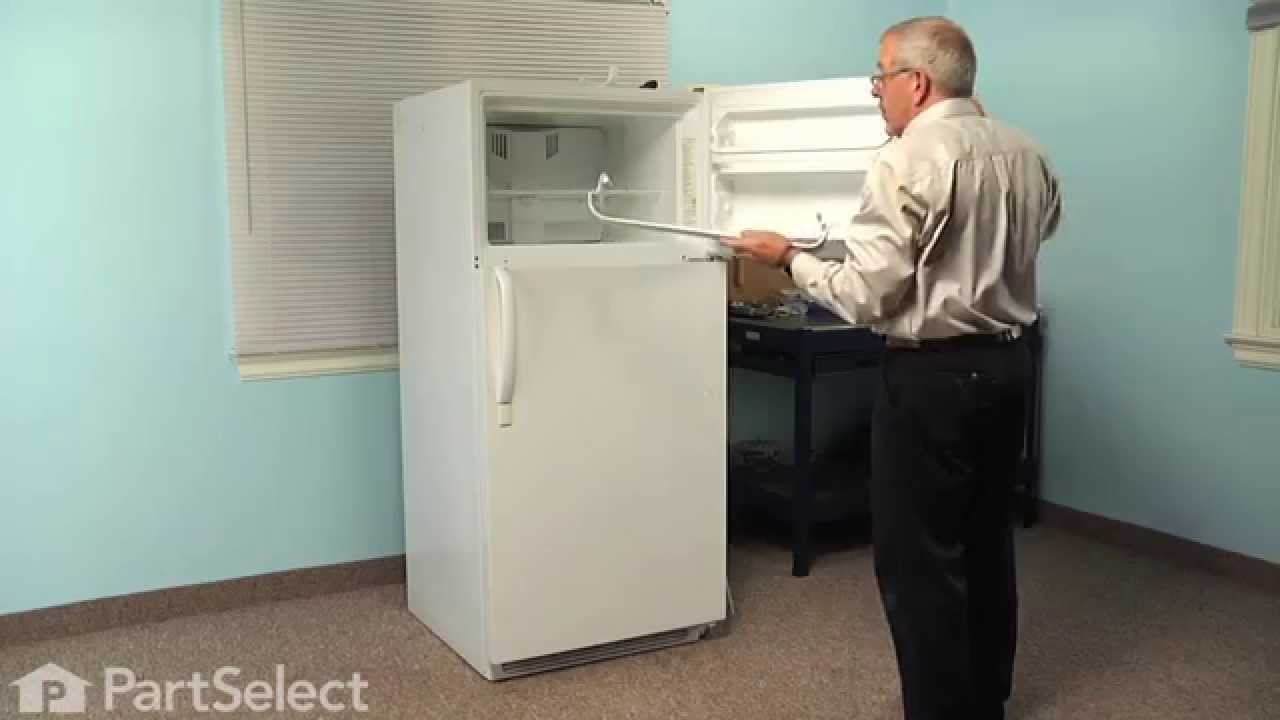 Replacing your Frigidaire Refrigerator Door Shelf Retainer Bar End Cap - Left Side